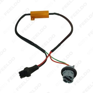 2pcs Canbus Error Free Резистор LED Decoder Предупреждение об ошибке Canceller Для 7440/7441/992 LED сигнала поворота лампы # 5334