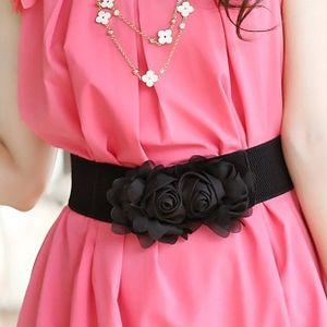 decorative flower elastic cute sweet Women's decorative flower lace elastic Lace Vest vest waistcoat women's cute sweet waistcoat