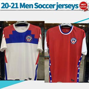 칠레 naiton 팀 축구 유니폼 미국 아메리카 20/21 남#7ALEXIS#8A.VIDAL 빨간색 짧은 축구 셔츠 2020 년 축구 유니폼