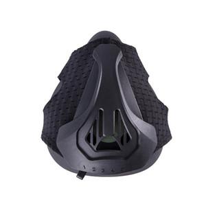 Spor Siyah staminayı artırın İçin Direnç Egzersiz Nefes Spor Maskeler Yüksek İrtifa Simulation Maske