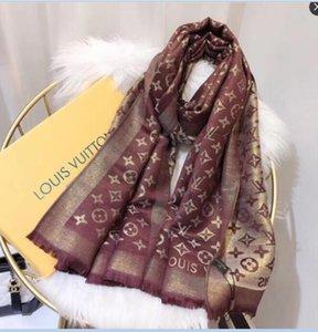 2020 Luxury flower letter women silk scarf designer classic style beach shawl headwrap silk scarves exquisite woman accessories silk scarf