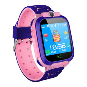 New S9 LBS Positioning Children's Smart Watch Phone Call SOS Photo Watches For Kid Clock 1.44inch Sport Wristwatches For IOS Android