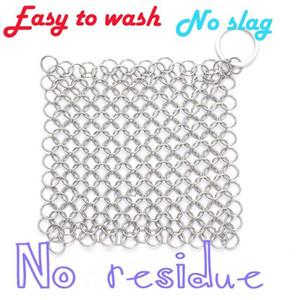 Edelstahl Bürstentopf Netz Wash Topf Ringnetz Küchen Artefakt sauberen Pinsel Topf net