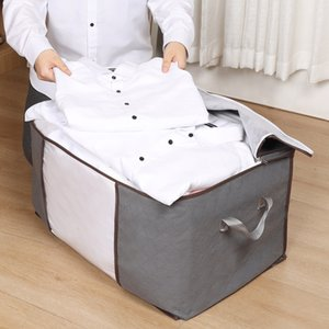 Clothing Storage Bag Sheets Quilt Pouch Box Case Foldable Multifunction Wardrobe Closet Underbed Organizer