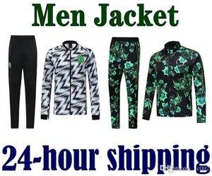 2018 2019 2020 Tribute Men Soccers jacket Sets Green Tracksuits 18 19 Nigerian Footballs Suits coat