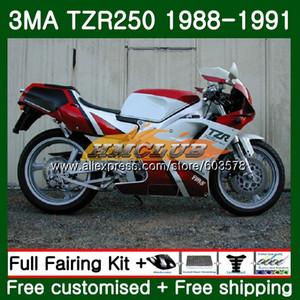 Körper für YAMAHA TZR250 3MA TZR250 1988 1989 1990 1991 Red White 121CL.37 TZR250RR TZR250 YPVS TZR 250 88 89 90 91 Verkleidungs
