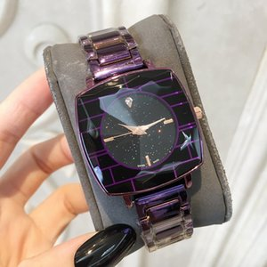 Relojes De Marca Mujer New Fashion Lady Orologi quadrante nero irregolare orologio da donna in acciaio inossidabile orologio da polso di lusso