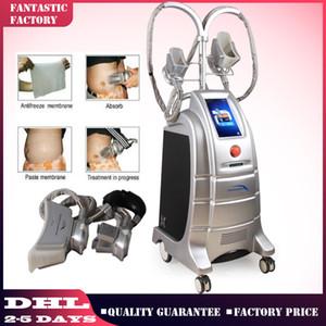 Бесплатная доставка 4 головки крио тела Scul pting Lipofreeze похудения криотерапия машина замораживания жира липосакция похудения Потеря веса криотерапия
