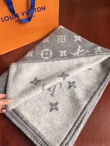 NEU !! Beste Quailly Wolle thicking Brief Blanket WOLL L Decke grau Heimschlafsofa Big Size 140 * 180cm gute quailty Marke L Blanke