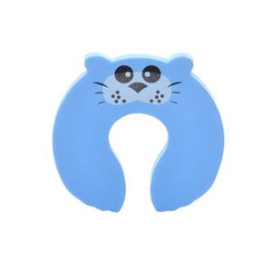 5Pcs Lot Protection Baby Safety Cute Animal Security Door Stopper Baby Card Lock Newborn Care Child Finger Protector
