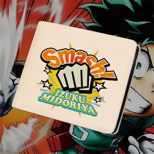 Мой герой Академии бумажник боку не герой Академия Midoriya Izuku Тодороки шото мультфильм короткие кошельки для мальчиков для девочек