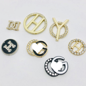 Multistyle رسالة بروش المرأة حجر الراين رسالة بروش اليدويه مجوهرات اكسسوارات للحزب هدية عالية الجودة Multistyle
