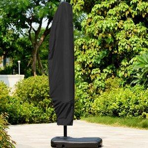 방수 옥스포드 천 실외 차양 우산 커버 정원 비바람에 파티오 캔틸레버 파라솔 레인 커버 액세서리 우산