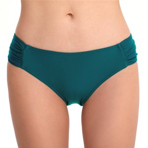 Mujeres atractivas de gran tamaño Bikini Trajes de baño Negro Rojo Cintura baja Corto Verano Swim T-Back Recorte Tanga Seguridad Pantalones de playa XL
