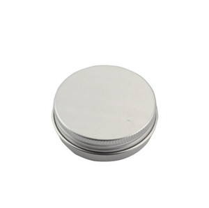 2019 New 50g Empty Aluminum Cosmetic Jar Container.Screw Cap Makeup Container Case Tea Box