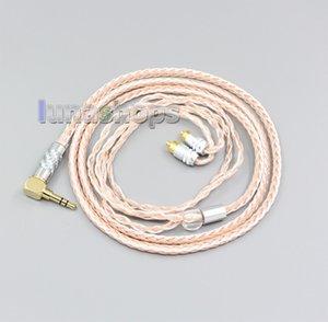 2,5 mm 3,5 mm XLR symétrique 16 de base OCC Argent mixte casque Câble USB pour Sony-M7 REI REI-M9-REI Z1R LN006473