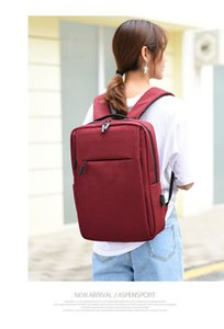 Usb Backpacks Backpack Casual Cable In Teenager Student Stock Schoolbag Travel Bags 4 Colors Business Bag 4 SPAY