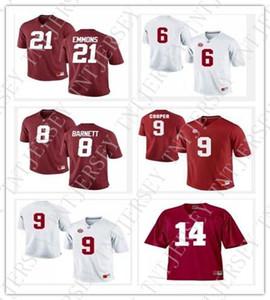 Alabama Crimson Tide di calcio maglie Courtney Upshaw Derrick Henry Dont'a Hightower Dre Kirkpatrick Eddie George customiz qualsiasi nome num