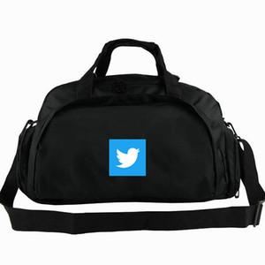 Borsone Twitter Borsone MicroBlog Zaino rete sociale Bagaglio aziendale Borsone da spalla sportivo da allenamento Imbracatura da esterno