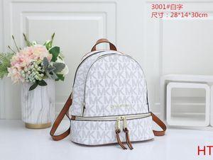 3001 Diseñador Mochila Mujeres de lujo diseñador bolsos monederos de cuero del bolso del hombro del bolso mochila grande