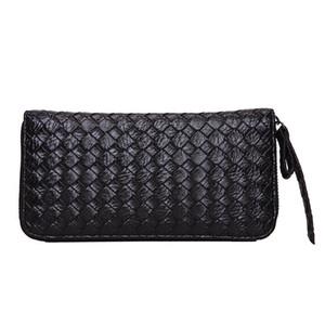 Pretty2019 Fund Long Tassels Wallet Ma'am Weave Hand Take Piccolo cambiamento Zipper pacchetto del telefono mobile