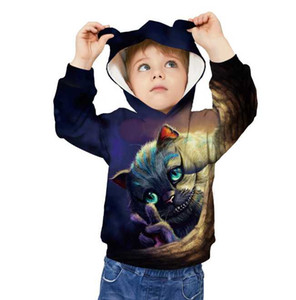 Long sleeved sweater child's spring and summer jumper fashion Hoodie asual hooded sportswear hip-hop style comfortable sweater