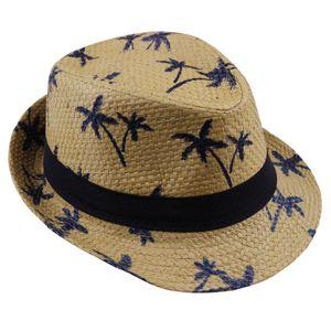 2019 venda quente de palha de verão chapéu de sol crianças praia chapéu de sol trilby panamá chapéu handwork para o menino menina crianças 4 cor