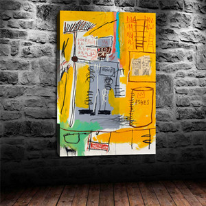 Jean Michel Basquiat Untitled,HD Canvas Printing New Home Decoration Art Painting (Unframed Framed)