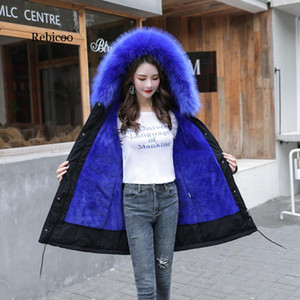 coats Thick Warm Winter Jacket Women Winter Coat With Fur Lining Plus 5XL 6XL Hooded Female Long Coat Parkas Snow Wear