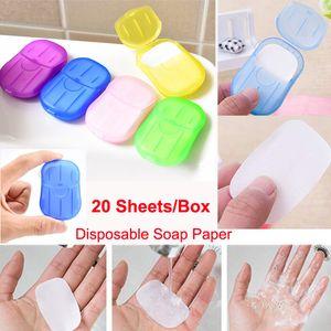 غسل المحمولة يمكن التخلص منها ورقة الصابون السفر اليد التنظيف والصابون لغسل أوراق حمام اليد الروائح في الهواء الطلق صابون قاعدة الحمام