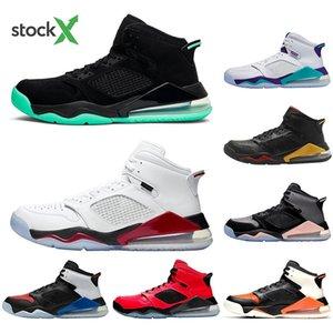 Nike Air Jordan Mars 270 Con le scarpe calze Pallacanestro Green Glow scarpe per uomo donna Flre Uva nera Shatterad Tabellone sneakers classici di sport del mens trainer running