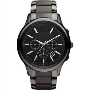 Drop shipping AR2453 AR2452 AR2454 En kaliteli erkek kuvars saatler paslanmaz çelik İzle moda Saatı Sıcak Satış