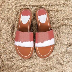 marca del progettista ESCALE bloccarlo FLAT MULE pantofole da donna dimensioni 1A7TO3 sandali moda scarpe casual di alta qualità Beach 35-42 con box