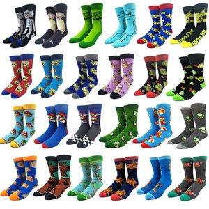 Super Mario Knee-High Socks With Cape Women Men Cosplay Cartoon Calf Sock Donkey Kong Mario Bros Socks Adult Casual Socks