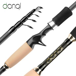 MAMBA CARBON Fiber Fishing Rod Telescopic spinning rods