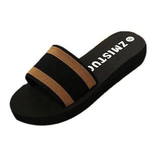 Home Slippers For Women Non-slip Female Summer Indoor Bathing Couple Slides Ladies Beach Flip Flops Slippers Shoeses D2