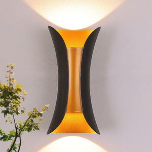 LED 벽 램프 IP65 방수 옥외 10W LED 벽 빛 실내 침실 장식 조명 베란다 정원 조명 벽 램프