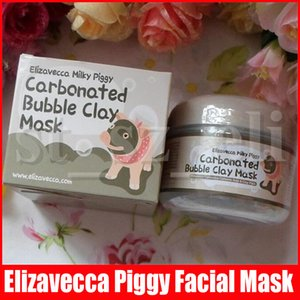 Milky Piggy Carbonated Oxygen Bubble Clay Mask 100g Remove Blackhead Acne Purifying Pores Face Care Facial Sleeping Mask Elizavecca 3 Styles