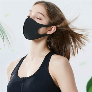Fashion Designer PM2.5 Ice Silk 3D Masks Face Mouth Cover Anti-Dust Protect Unisex Fabric Mask Breathable Dustproof Washable Cycling Masks