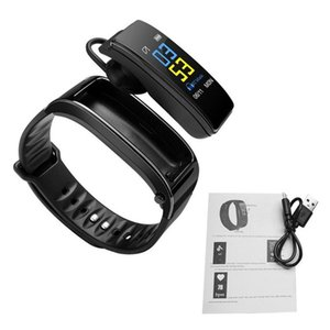 Y3 Bluetooth Color Headset Talk Smart band Bracelet heart rate monitor Sports Smart Watch Pedometer Fitness Tracker Wristband