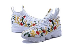 James45 Hot 15 Re Mantello di pallacanestro scarpe a buon mercato di vendita con Box 15 Scarpe KITH prestazioni floreali di trasporto Negozio