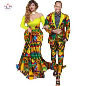 Doux Lovers correspondants Couples Vêtements Cadeau St-Valentin femme à manches longues Robes et costumes pour hommes Veste Taille Plus WYQ40