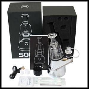 G9 originale enail SOC Kit 2600mAh TC Vape Mod Con Bong Pipa Secco Erbe vaporizzatore Cera atomizzatore