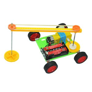 Sweeping Robot Primary School Students Hand-made Technology Small Creative Invention Educational Science Experimental Toys