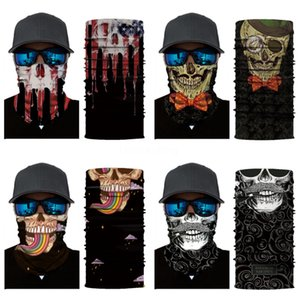 Multi Function Bandana Ski Outdoor Sport Motorcycle Biker Skull Scarf Face Mask Sport Mask Cs Mask Bandana Turban Magic Headsca #392#219
