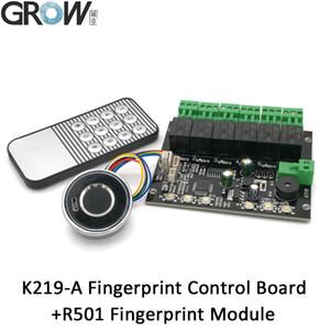 K219-A + R501 Programlanabilir Kızılötesi GROW Uzaktan Kumanda Parmak İzi Kontrol Kurulu Anahtarı Kontrol Yönetimi Denetleyicisi