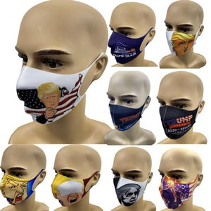 In Stock !! Face Masks Trump American Election Supplies Dustproof Print Mask Universal For Men And Women Dust Mask EEA1763