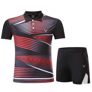 Yeni Badminton spor giysileri Kadınlar / Erkekler, tenis takımı, masa tenisi giysileri, tenis seti, Qucik kuru badminton giyim setleri 3863
