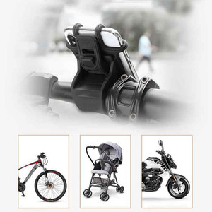 6 Colors Bike Phone Holder Universal Silicon Smartphone Bike Motorcycle Mount Cell Phone Holder ZZA2271 60Pcs