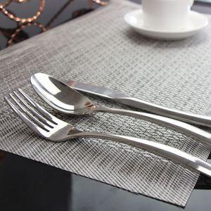 LIYIMENG 4 peças / lote Placemat Coasters termo-isolante Louça Decor PVC Kitchen Dinning bacia Dish Waterproof Pad Mat Tabela